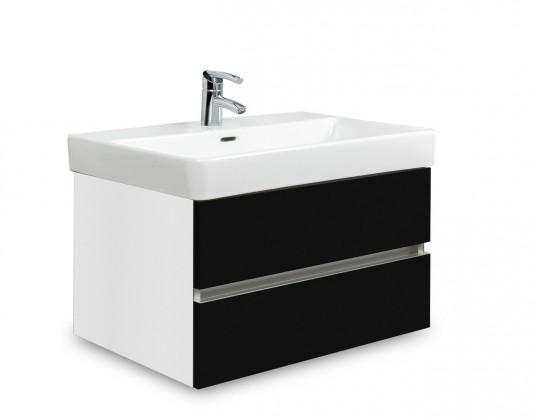 Brisbane - skříň s umyvadlem Laufen Pro S 65cm (bílá/černá)
