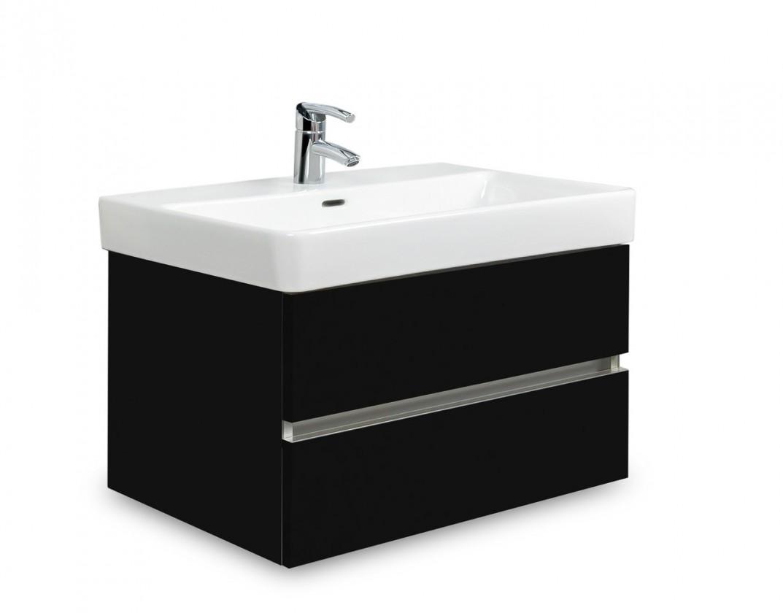 Brisbane - skříň s umyvadlem Laufen Pro S 65cm (černá)