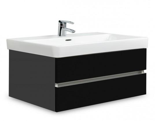 Brisbane - skříň s umyvadlem Laufen Pro S 85cm (antracit/černá)