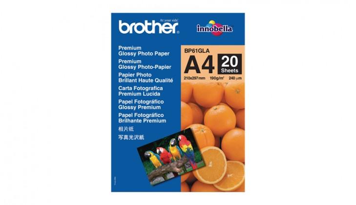 Brother BP61GLA fotopapír 20 listů