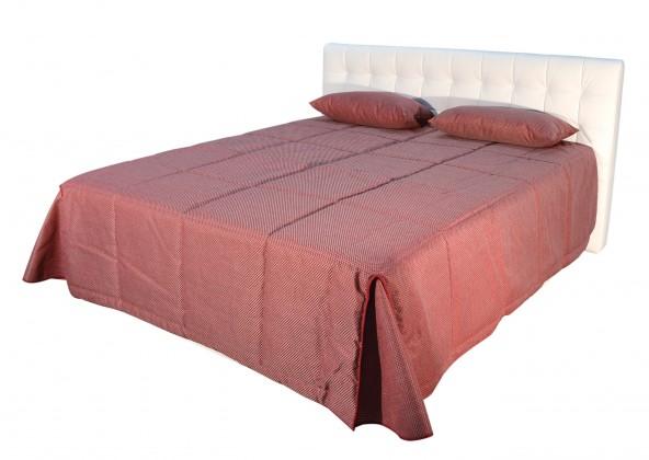 Čalouněná Čalouněná postel Anita 180x200, bílá, vč. matrace a úp