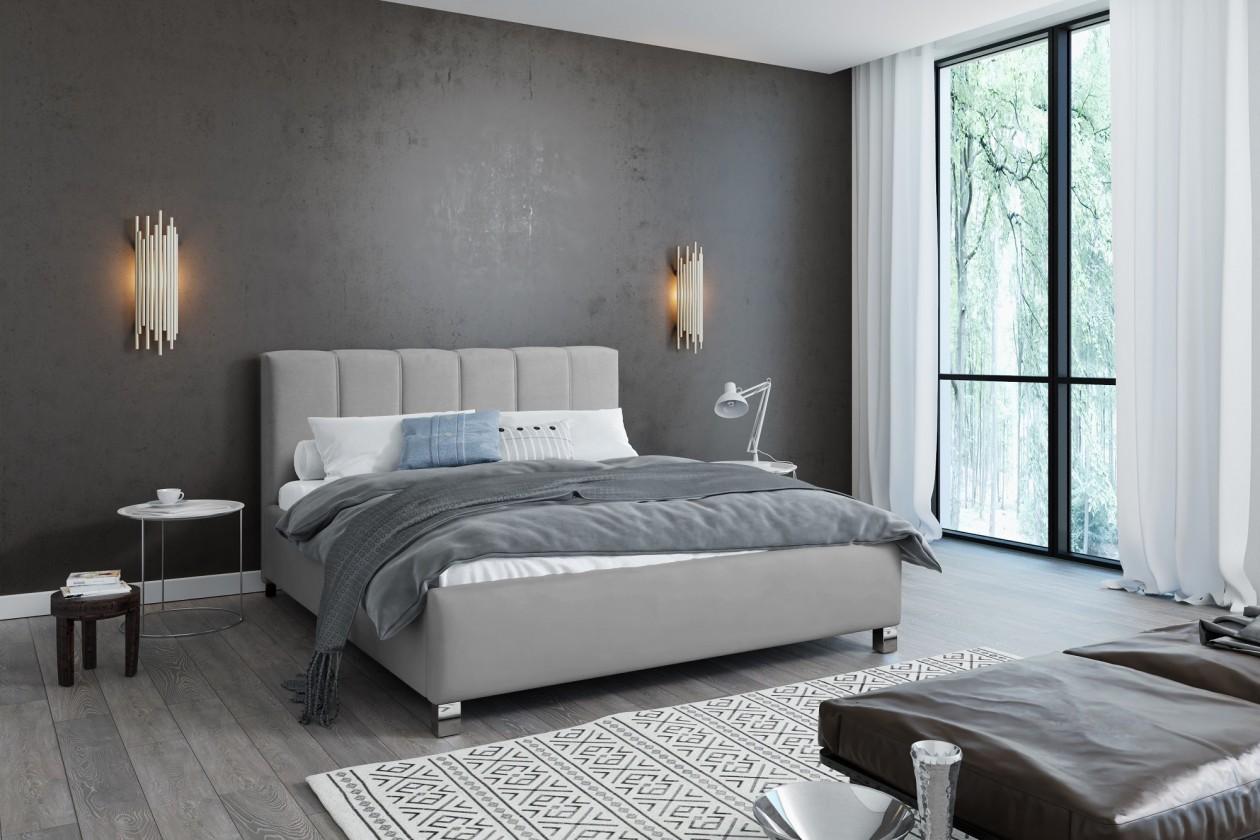 Čalouněná Čalouněná postel Boa Vista 180x200 vč.roštu a úp, bez matrace