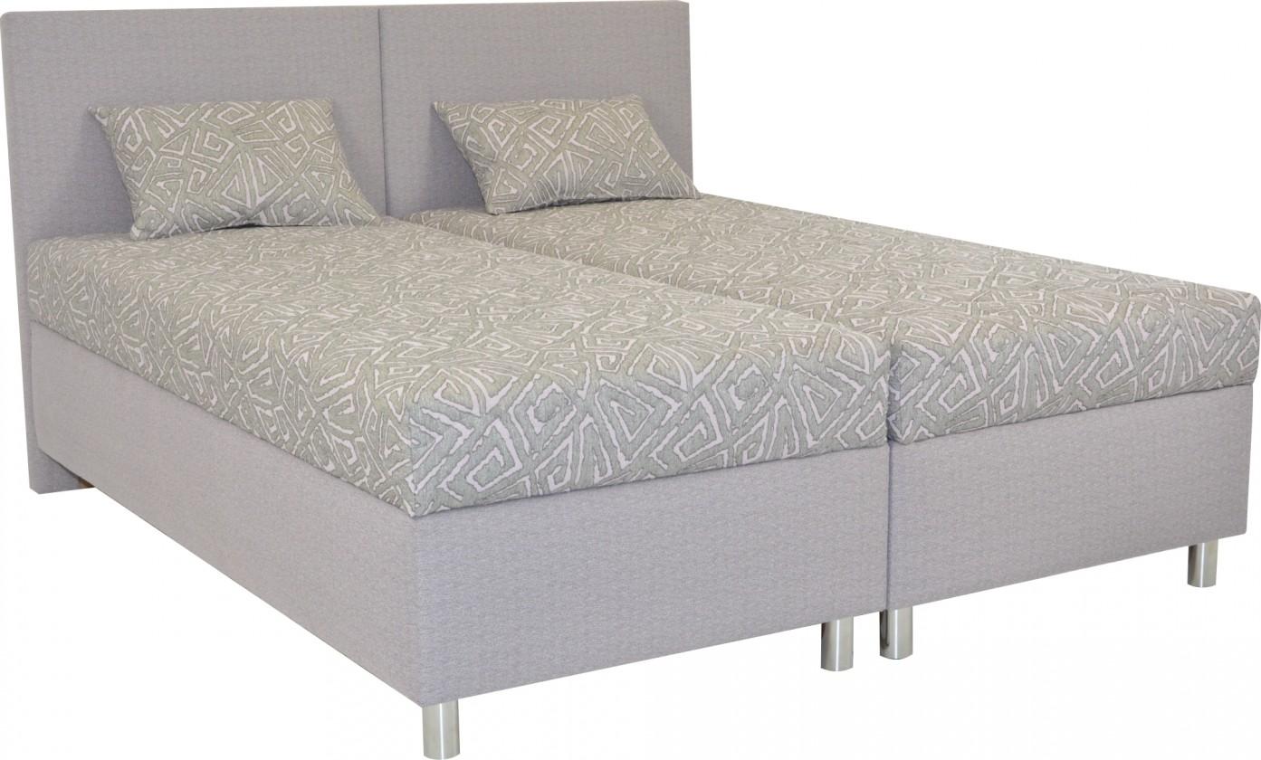 Čalouněná Čalouněná postel Colorado 160x200, růžová, vč. matrace a úp