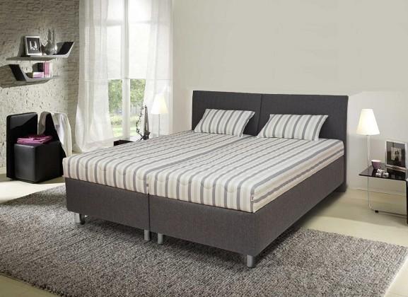 Čalouněná Čalouněná postel Colorado 180x200, šedá, vč. matrace, roštu a úp