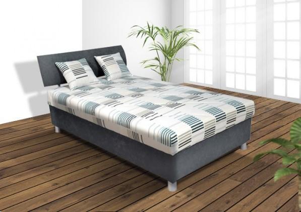 Čalouněná Čalouněná postel George 120x200 cm (šedá)
