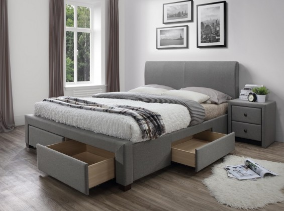 Čalouněná Čalouněná postel Marion 160x200, vč. roštu a úp, bez matrace