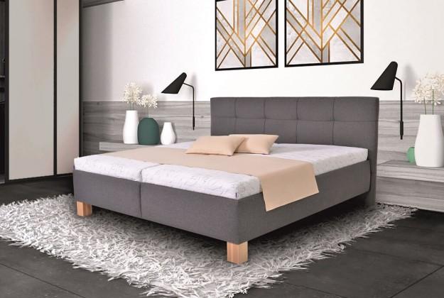 Čalouněná Čalouněná postel Mary 180x200, vč. matrace, pol.roštu a úp