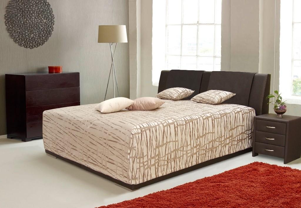 Čalouněná Čalouněná postel Mirror 2, 180x200, vč. roštu a úp, bez matrace