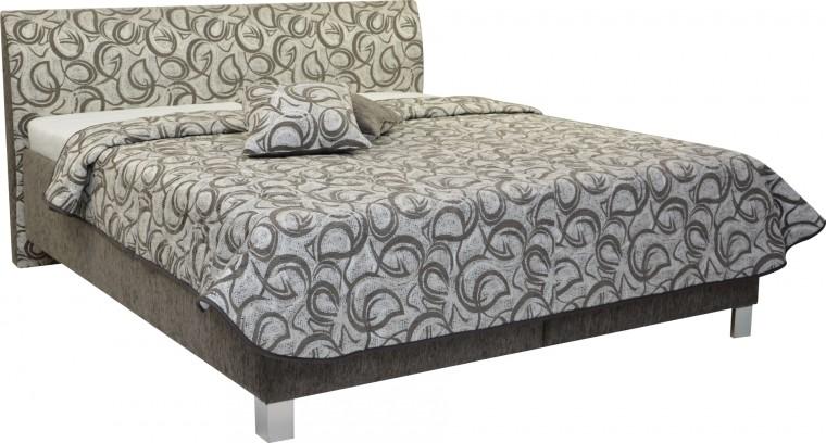 Čalouněná Čalouněná postel Sahara 160x200, vč. roštu a úp, bez matrace