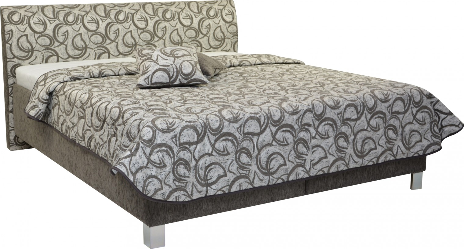 Čalouněná Čalouněná postel Sahara 180x200, vč. roštu a úp, bez matrace