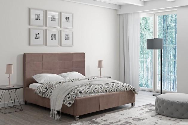 Čalouněná Čalouněná postel San Luis 160x200 vč.roštu a úp, bez matrace
