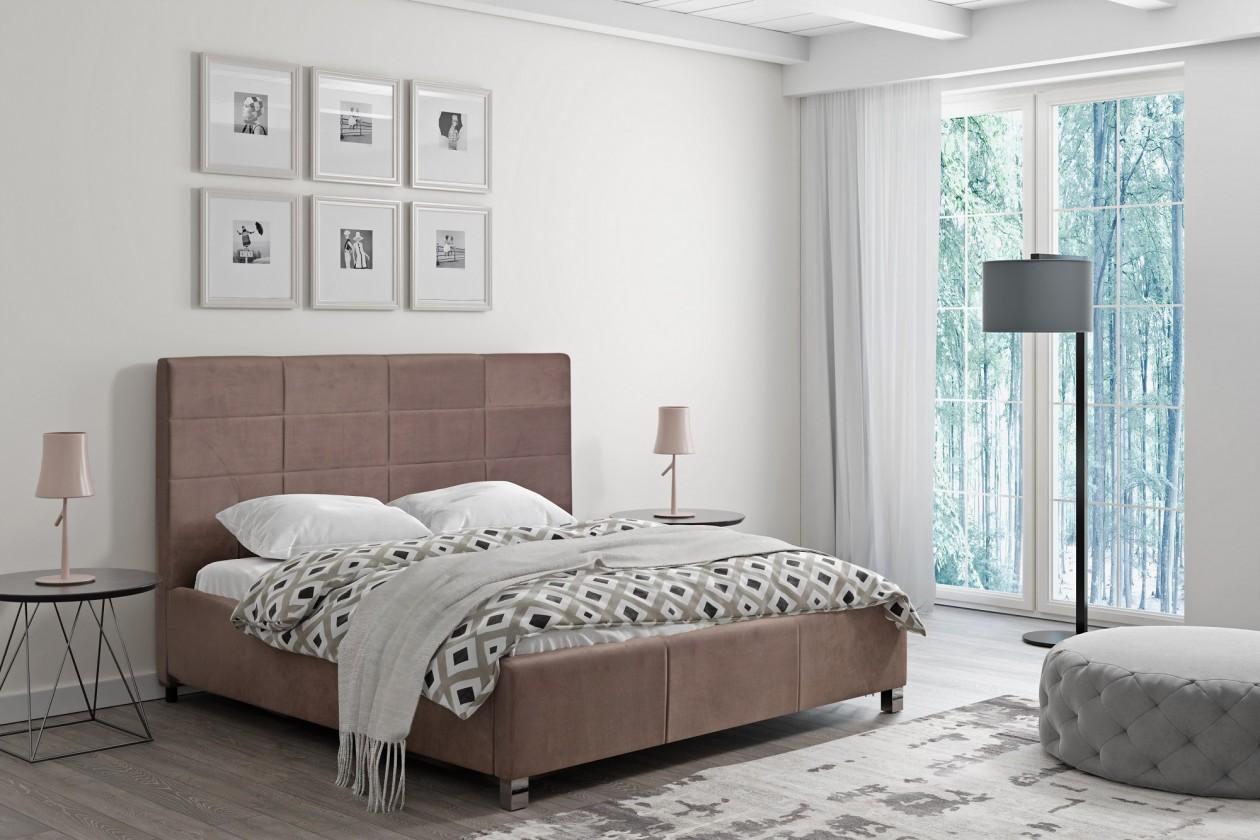 Čalouněná Čalouněná postel San Luis 180x200 vč.roštu a úp, bez matrace