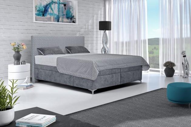 Čalouněná Čalouněná postel Sonia 180x200, vč. matrace, pol. roštu a úp