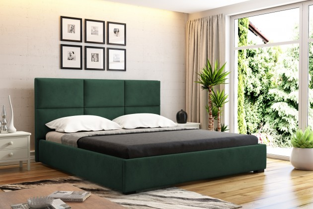 Čalouněná Čalouněná postel Storione 160x200 vč.roštu a úp, bez matrace