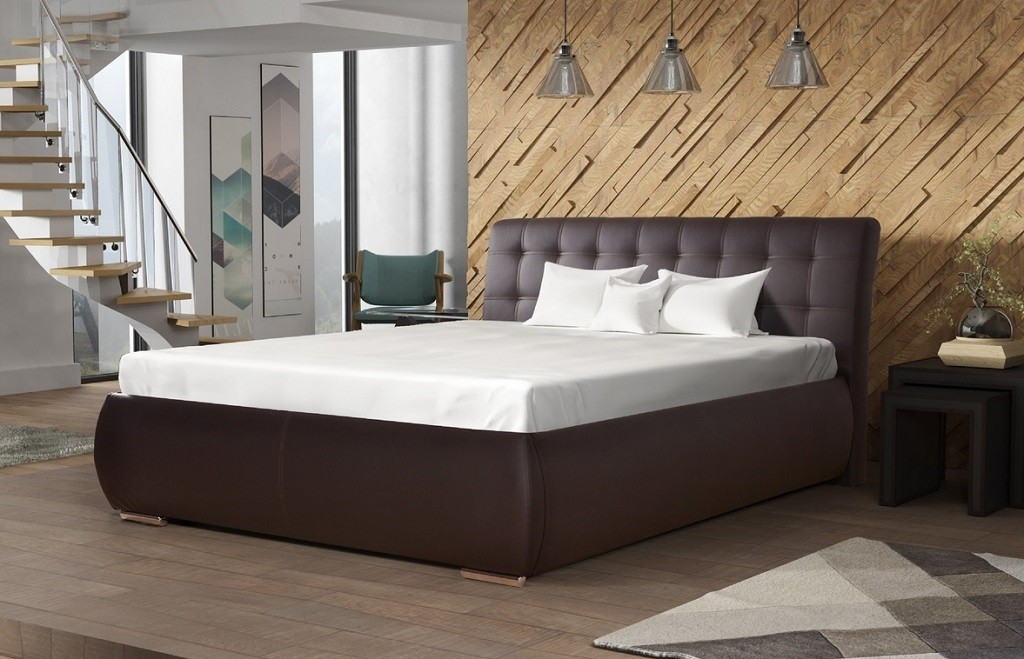 Čalouněná Čalouněná postel Tobago 160x200, včetně roštu a úp, bez matrace