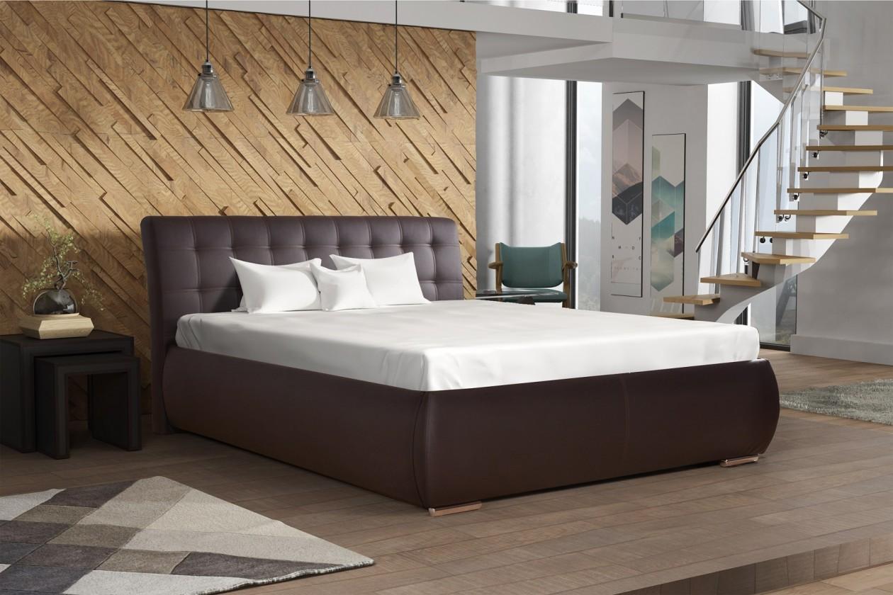 Čalouněná Čalouněná postel Tobago 180x200, včetně roštu a úp, bez matrace
