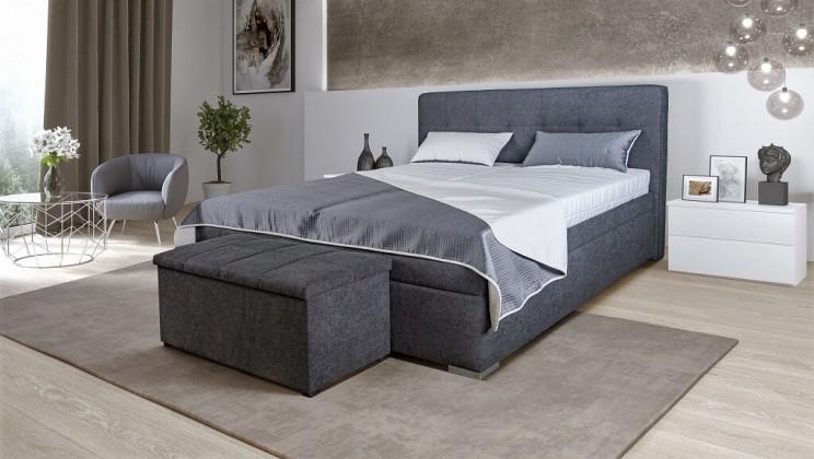 Čalouněná Čalouněná postel Trent 180x200, vč. matrace, poloh. roštu a úp