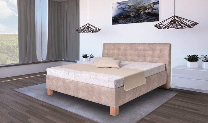 Čalouněná Čalouněná postel Victoria 180x200, vč. matrace, pol. roštu a ÚP