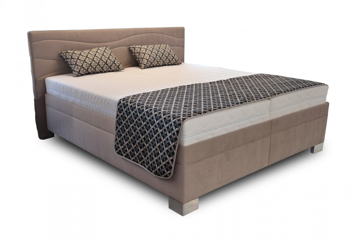 Čalouněná Čalouněná postel Windsor 180x200 vč. matrace a výklop. roštu, úp