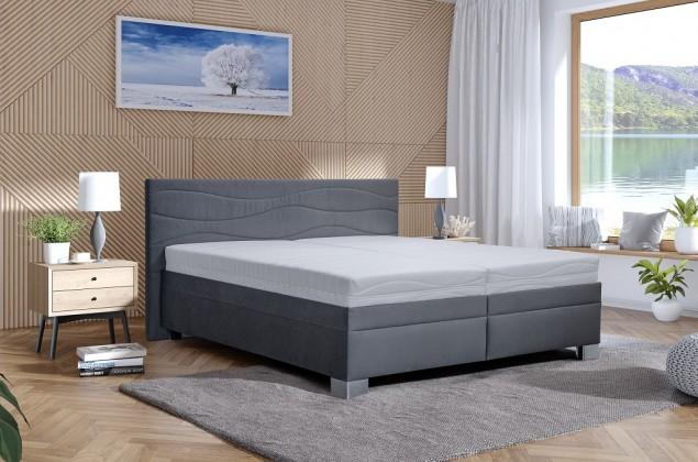 Čalouněná Čalouněná postel Windsor 200x200, vč. matrace, pol. roštu, ÚP