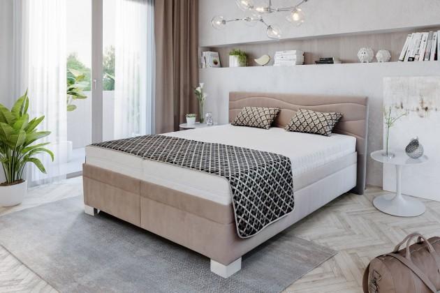 Čalouněná Čalouněná postel Windsor 200x200 vč. pol. roštu, bez matrace