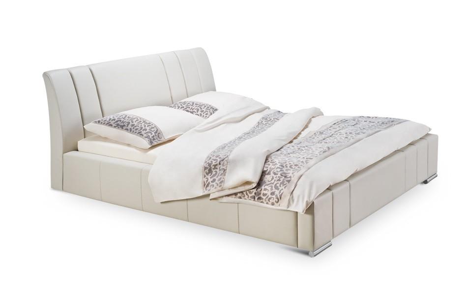 Čalouněná Diano - rám postele, rošt, 1x matrace (200x140)