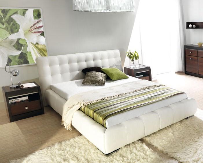 Čalouněná Forrest - Rám postele 200x140, s roštem