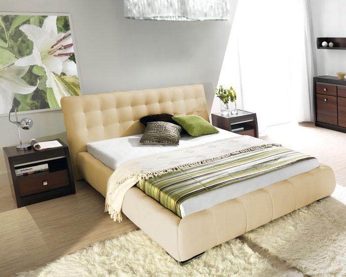Čalouněná Forrest - Rám postele 200x160, s roštem a úložným prostorem