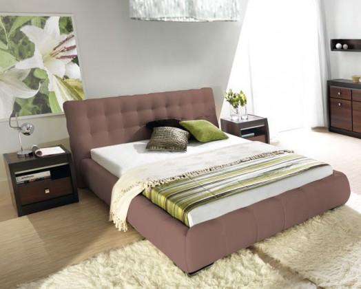 Čalouněná Forrest - Rám postele 200x180, s roštem a úložným prostorem
