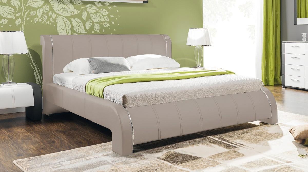 Čalouněná Naomi - Rám postele 200x180, s roštem
