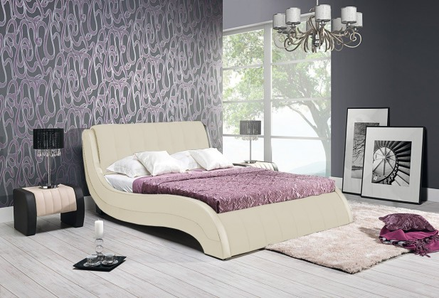 Čalouněná Nicol II - Rám postele 200x180, s roštem