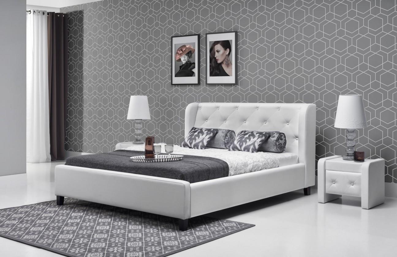 Čalouněná Parys - Rám postele 200x140 (eko skay 017)