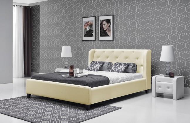 Čalouněná Parys - Rám postele 200x140 (eko skay B1)