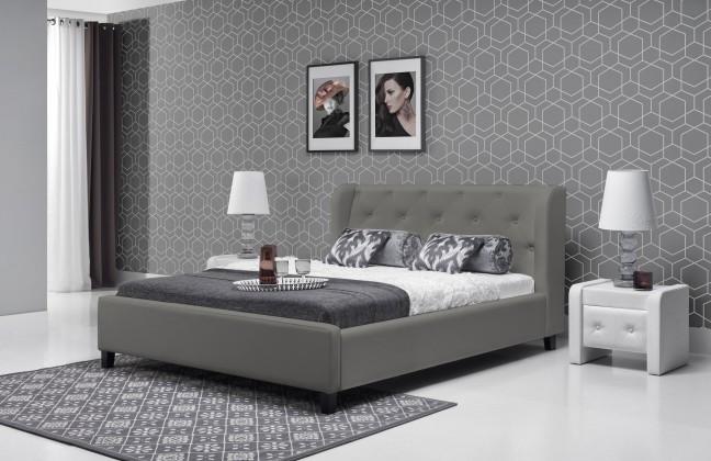 Čalouněná Parys - Rám postele 200x140 (eko skay tiguan 106)