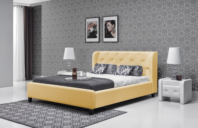 Čalouněná Parys - Rám postele 200x180 (eko skay 103)