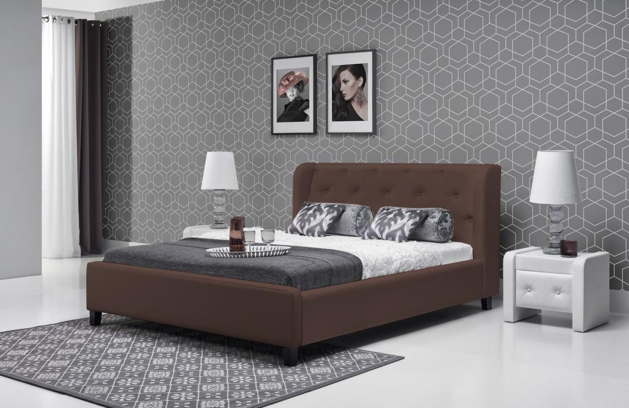 Čalouněná Parys - Rám postele 200x180 (eko skay 335)