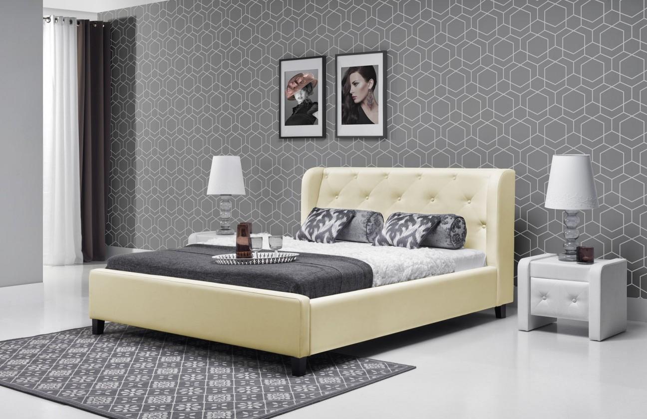 Čalouněná Parys - Rám postele 200x180 (eko skay B1)