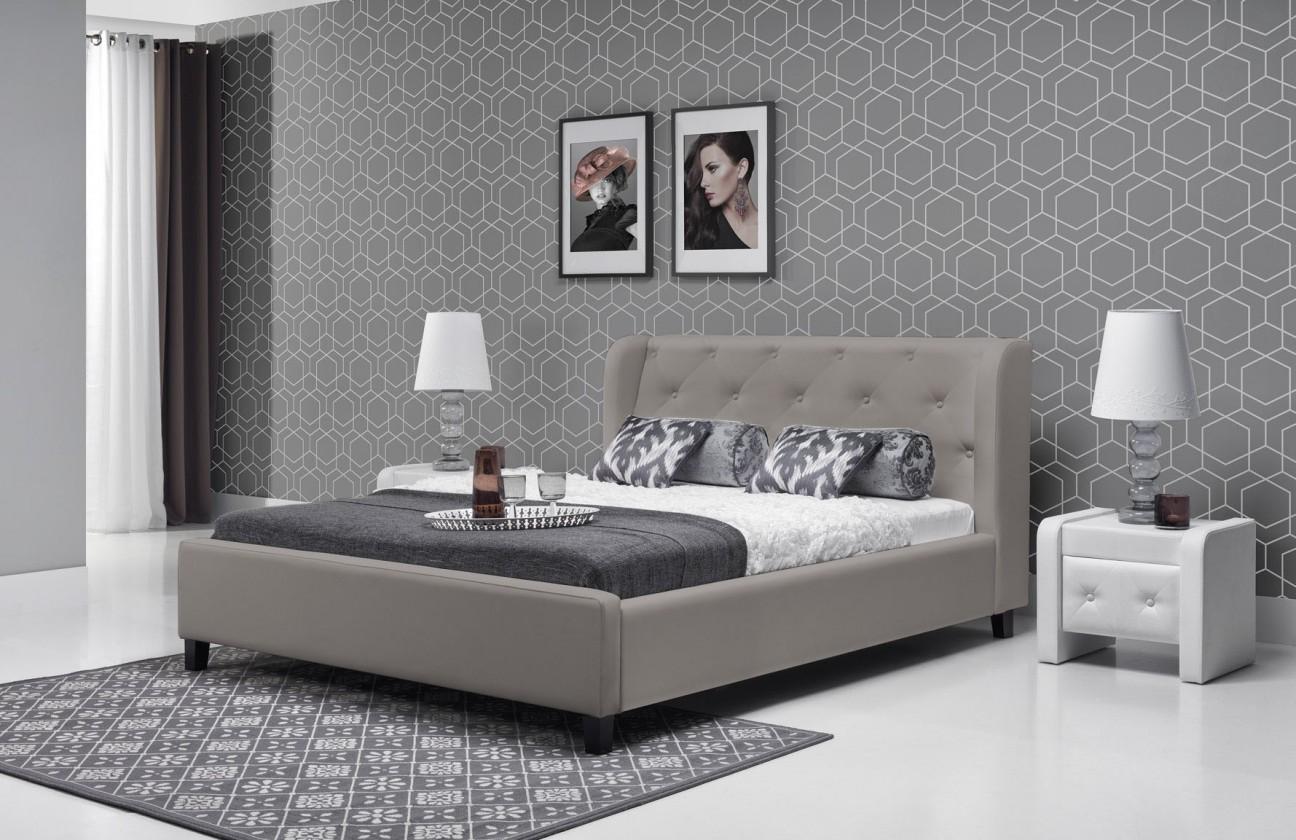 Čalouněná Parys - Rám postele 200x180 (eko skay tiguan 105)