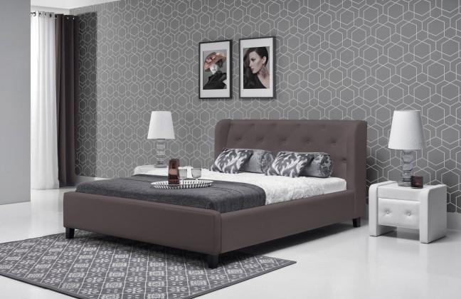 Čalouněná Parys - Rám postele 200x180 (eko skay tiguan 108)