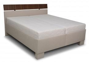 Čalouněná postel Antares - 180x200 (grotli 1/ořech 0729)
