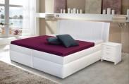 Čalouněná postel Bassit 2 - 140x200, vč. roštu a úp, bez matrace
