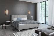 Čalouněná postel Boa Vista 180x200 vč.roštu a úp, bez matrace