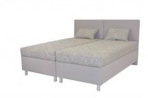 Čalouněná postel Colorado 160x200, růžová, vč. matrace a úp