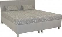 Čalouněná postel Colorado 180x200, šedá, vč. matrace a úp