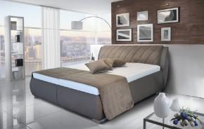 Čalouněná postel Grosseto 180x200 vč. matrace, poloh. roštu a úp