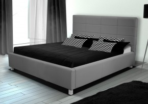 Čalouněná postel IX 180x200 cm, eko kůže, s úložným prostorem