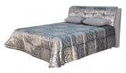 Čalouněná postel King 160x200, vč. pol. roštu a úp, bez matrace