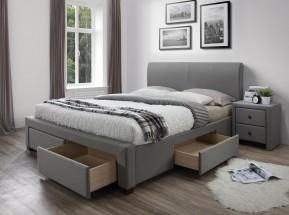 Čalouněná postel Marion 160x200, vč. roštu a úp, bez matrace