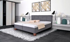 Čalouněná postel Mary 160x200, vč. matrace, pol. roštu a ÚP