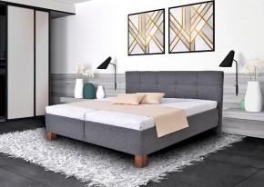 Čalouněná postel Mary 160x200 vč. matrace, pol. roštu a ÚP